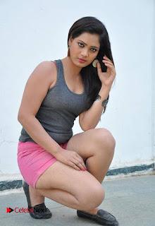 Avanthika Stills in Shorts at Maro Drusyam Movie Location