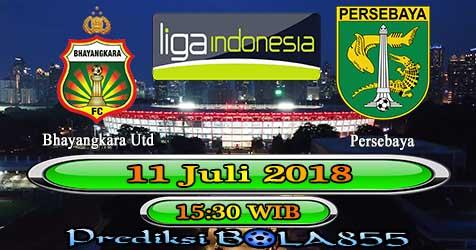 Prediksi Bola855 Bhayangkara Utd vs Persebaya 11 Juli 2018