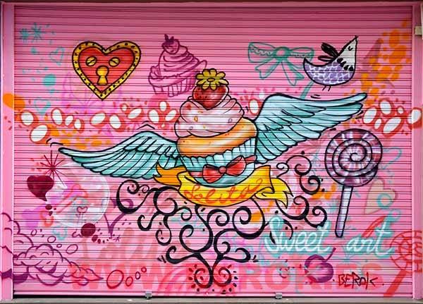 Graffitis Cupcakes
