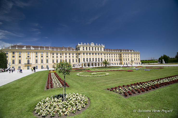 Palacio de Schönbrunn - Viena por El Guisante Verde Project