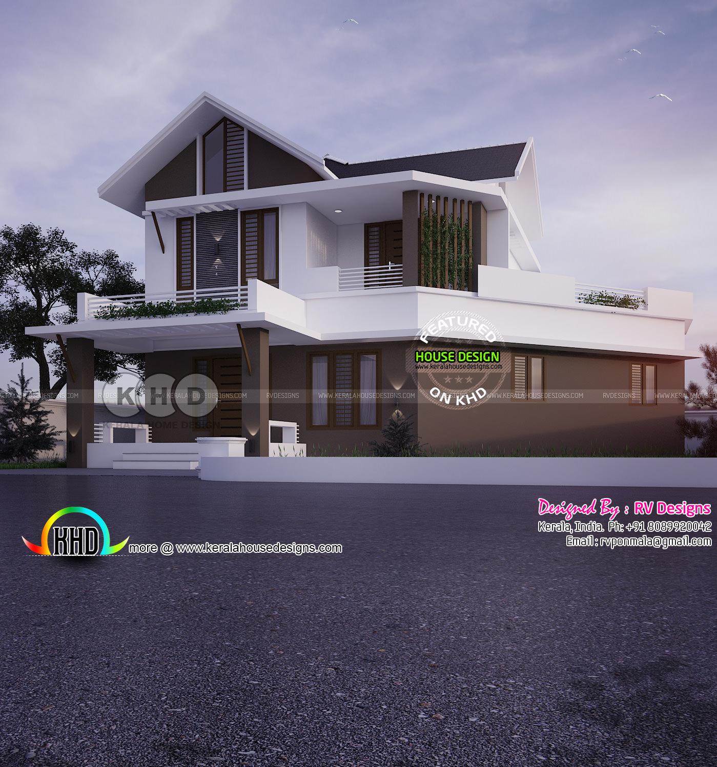 Modern House By RV Designs