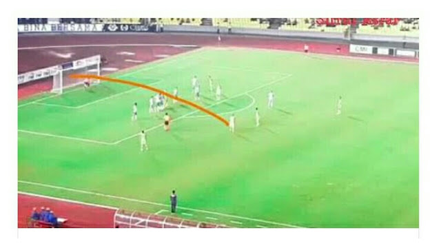Video: Amazing Freekick Gol Sandro Menentang Melaka United