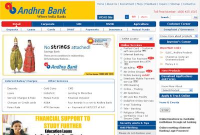 BBCnn News: Login to Andhra Bank Internet Banking – Number