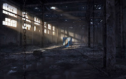 empty dark door creepy scary stalker haunted warehouse abandoned underground wall