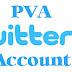 PVA Twitter account
