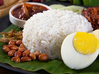 Resepi Nasi Lemak Lembut, Sedap Dan Wangi