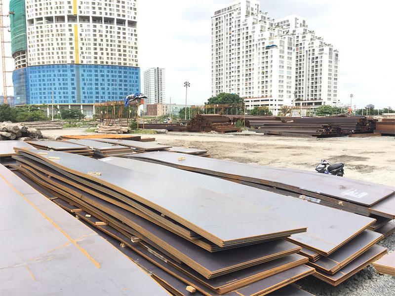 Sản phẩm thép tấm A572, Q345B tại công ty Thép Bắc Việt