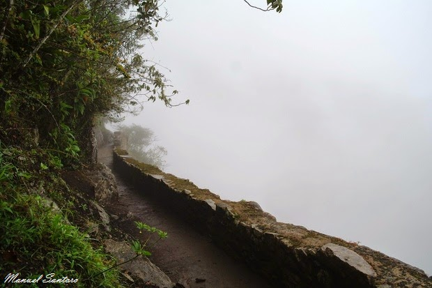 Machu Picchu, raggiungendo il ponte inca