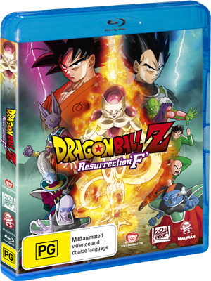Dragon Ball Z Resurrection F (2015) 1080p & 720p BluRay