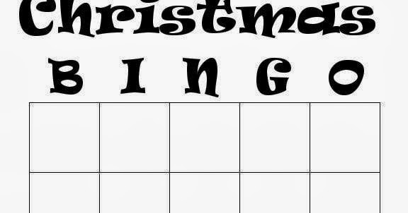 photograph relating to Christmas Bingo Card Printable referred to as Blank Xmas Bingo Playing cards Xmas Playing cards