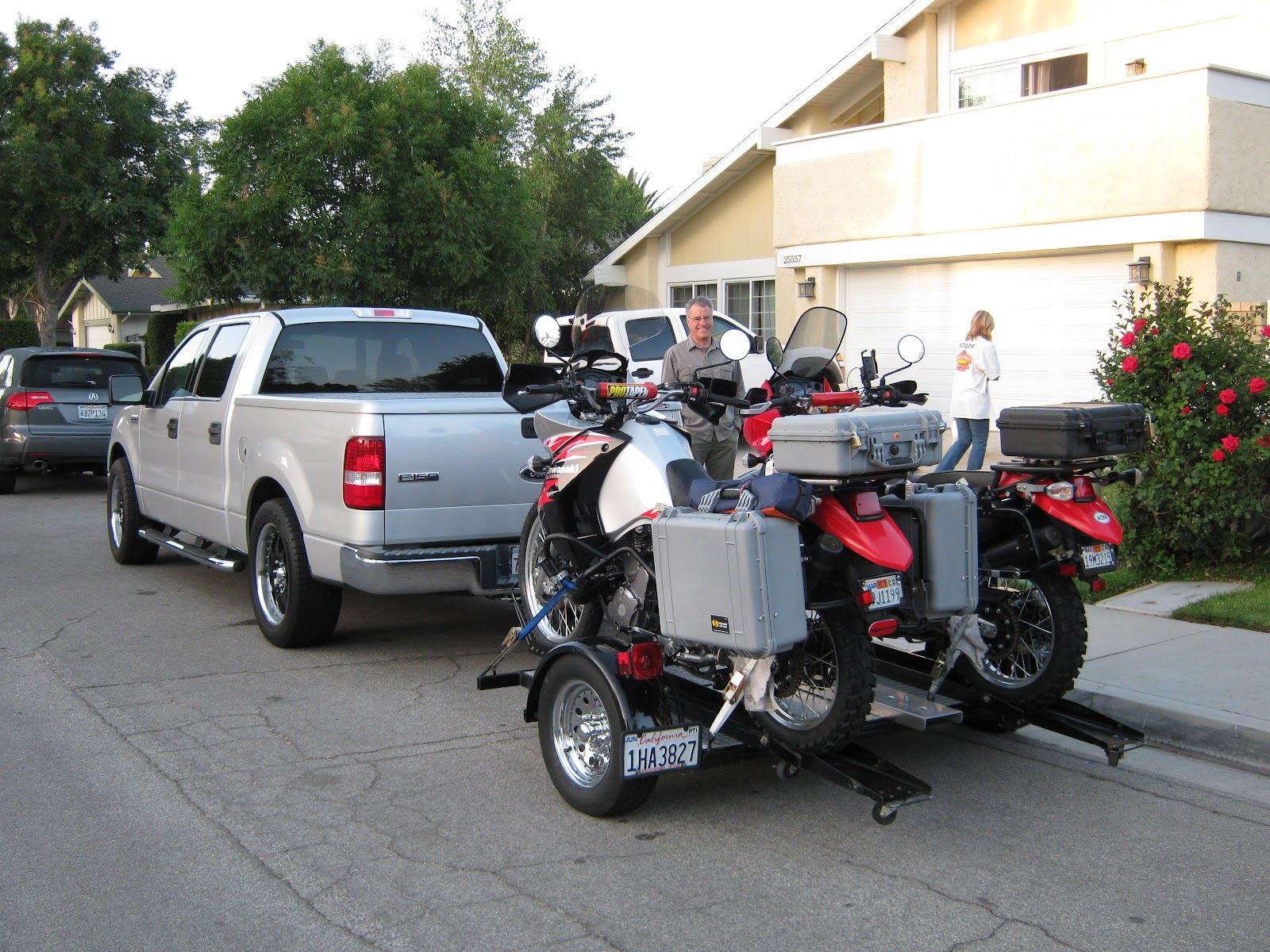 Adventures of the Horck: D2D Day 1 Santa Clarita, CA to ...