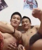 [576] Chinese handsome boys JERKING