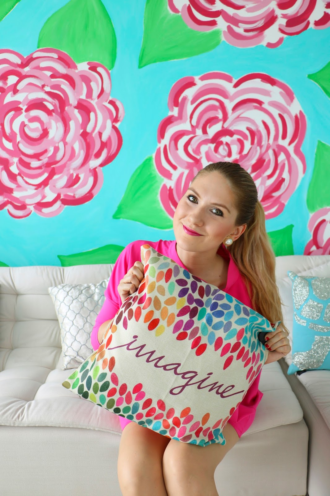 Click through to see all the bright colors of my home!
