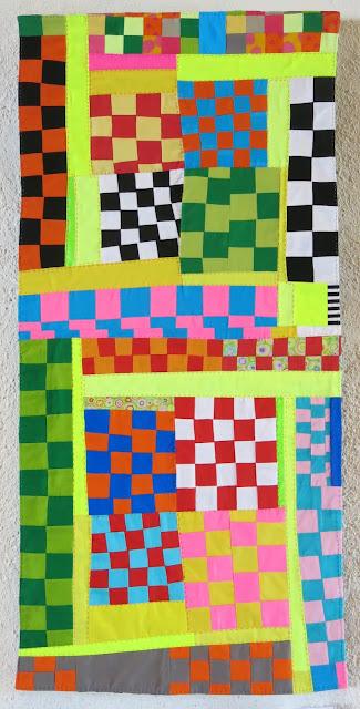 Neuchâtel Patchwork exhibition - Anne-Françoise Rey quilt