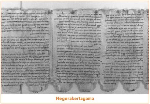 Negerakertagama - Peninggalan sejarah bercorak agama Hindu yang merupakan karya sastra