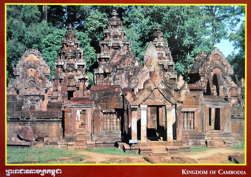 Kambodża zabytki