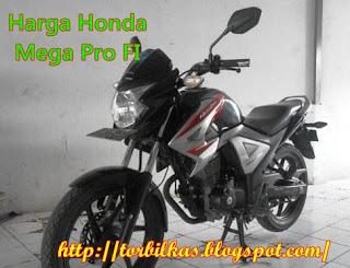 Harga Honda Mega Pro FI Bekas Termurah dan Lengkap