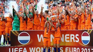 FÚTBOL - Eurocopa femenina 2017 (Holanda): Las anfitrionas se proclaman por primera vez en reinas de Europa