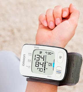 Wrist-cuff Blood Pressure Monitor