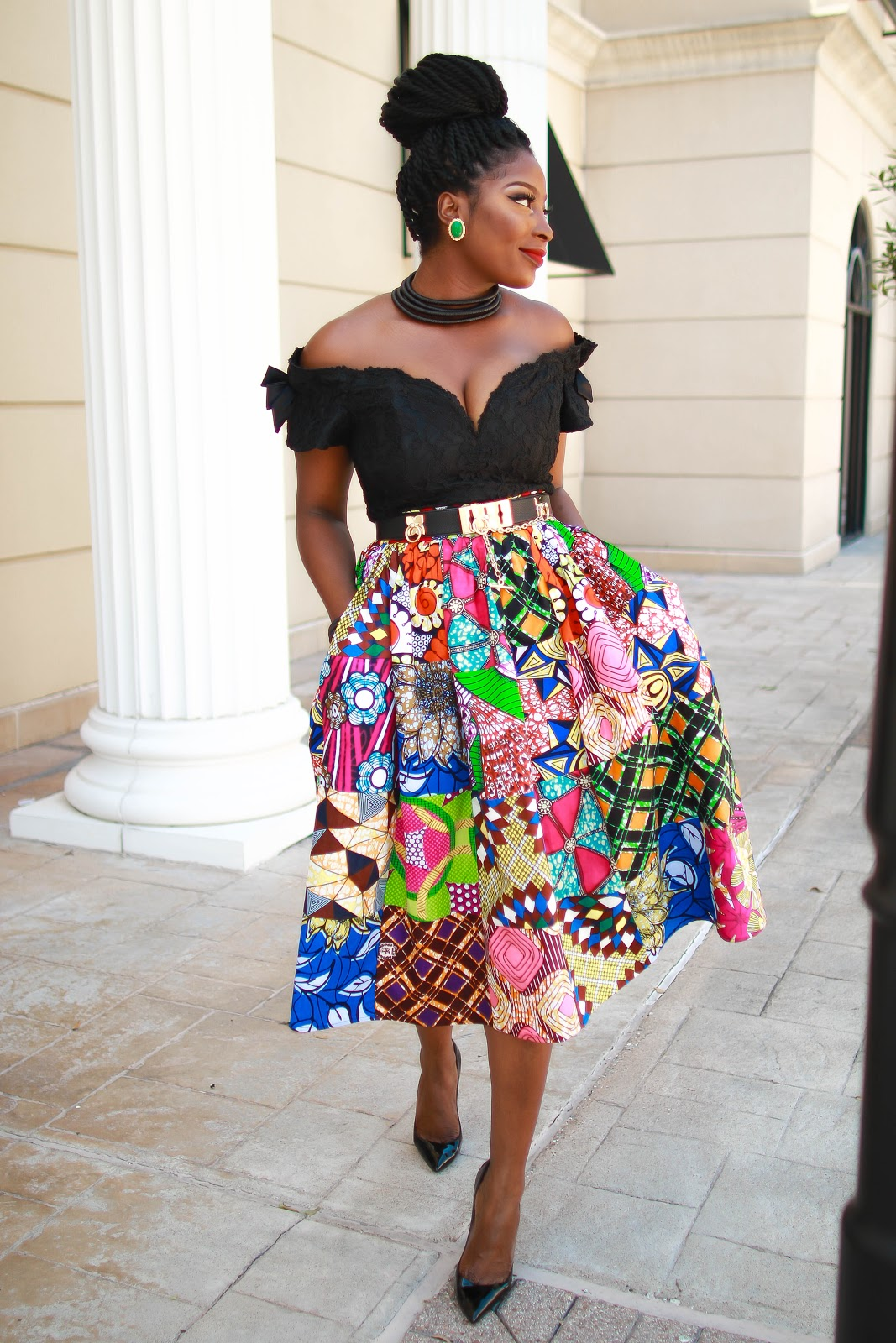 0e105902bb ... African prints clothing which are super affordable. Not completely sure  why a lot of African brands charge an arm and leg for a pair of skirt or  dress.