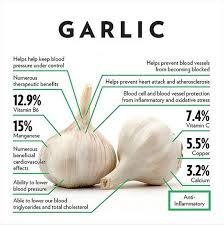 Garlic Nutrition Facts Benefits Of Garlic In Food