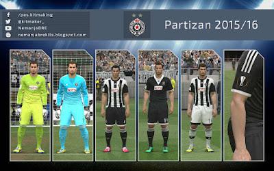 PES 2016 Partizan 2015-16 GDB Kits b5435a942