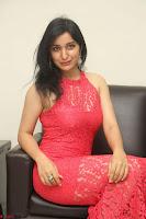 Sakshi Kakkar in Red Legsplit Sleeveless Gown at Dare movie Press meet ~  Exclusive 060.JPG