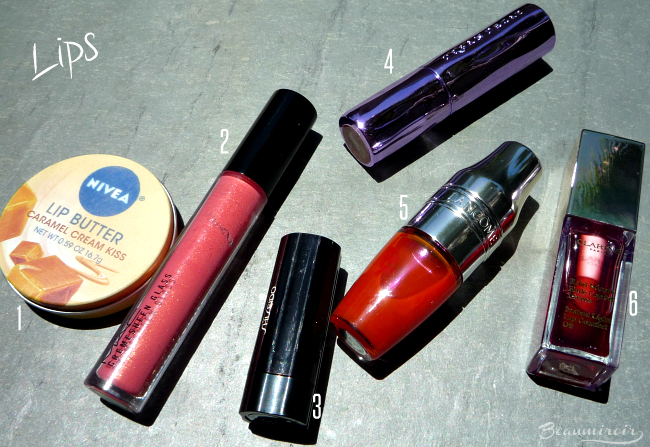 What's in my travel makeup bag? Lips