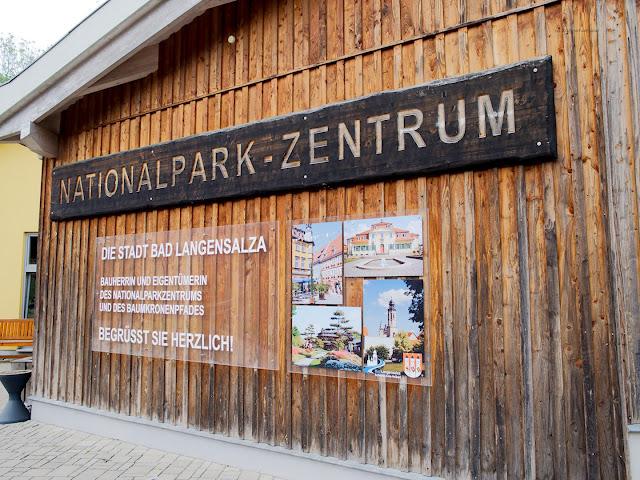 Nationalparkzentrum am Baunkronenpfad