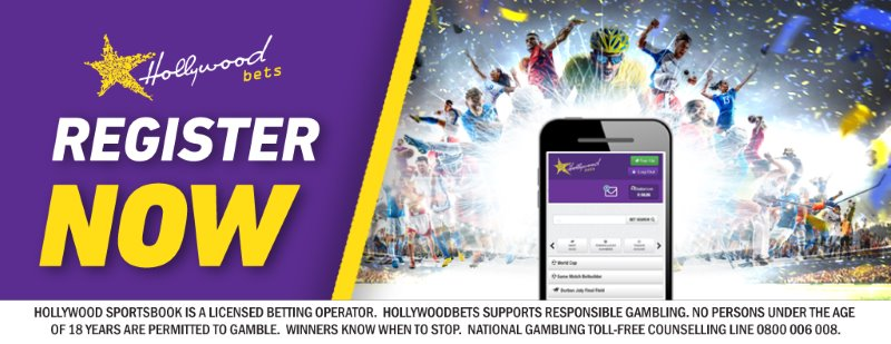 Register Now with Hollywoodbets - Mobile Betting