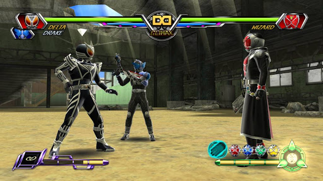 Kamen Rider Chou Climax Heroes PSP GAME ISO gameplay 1