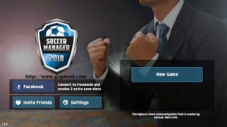 Soccer Manager 2018 v1.2.2 Apk