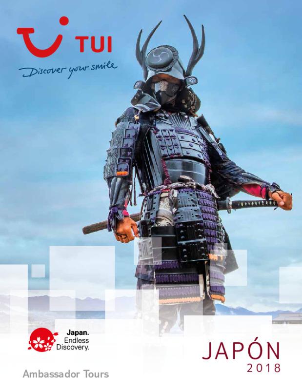 Catálogo TUI Ambassador Circuitos Japón 2018-19