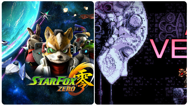 Star Fox Zero e Axion Verge