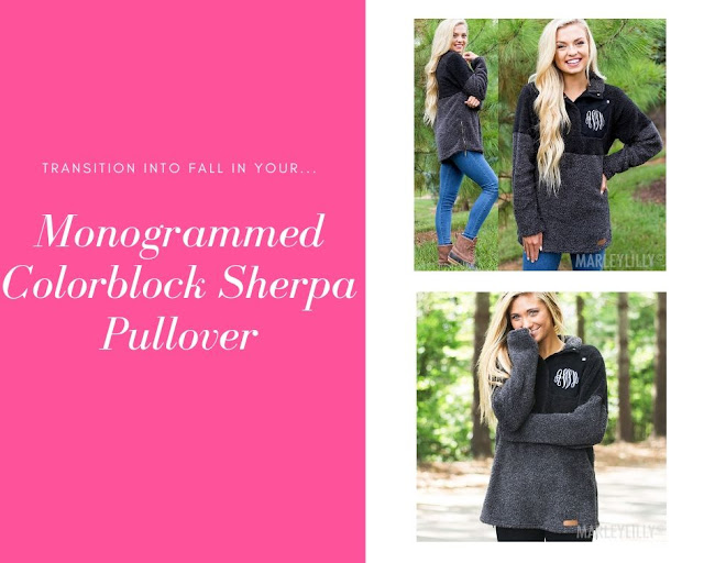 black sherpa pullover outfit