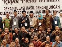 Berikut Nama Yang Akan Duduk Di DPRD Lampung, DPR RI dan DPD RI