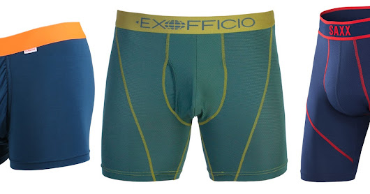 Men's Performance Underwear for Hiking and Backpacking
