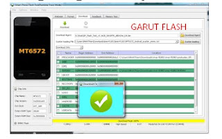 Flashing Advan M4 MT6570 Via SP Flashtool Tested