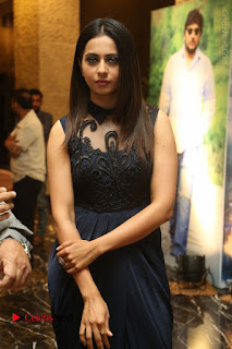 Actress Rakul Preet Singh Stills in Beautiful Blue Long Dress at Dhruva Salute to Audience Event  0034.JPG