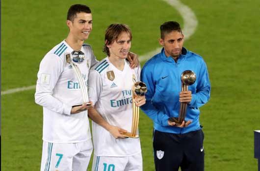 CR7 hụt giải bóng vàng FIFA Club World Cup