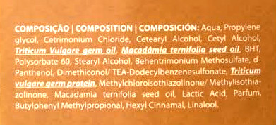 condicionador macadamia inoar composicao