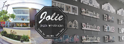 Jolie Jogja Wirobrajan place for you who have taste, pusat pernak-pernik dan fashion