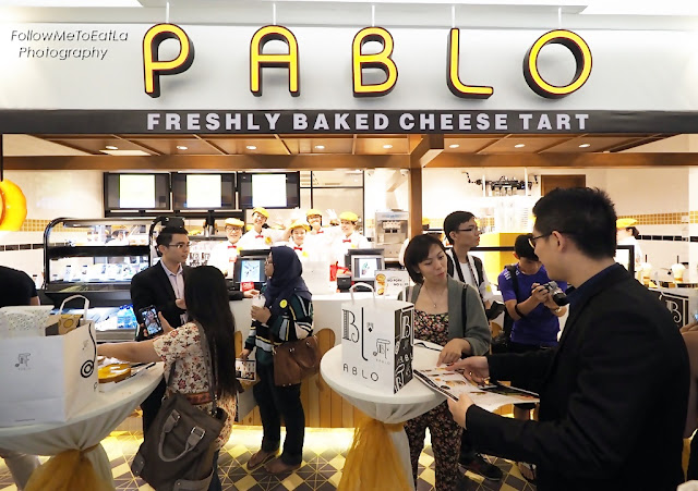 PABLO Cheese Tart Has Arrived on Malaysian Shores at 1 Utama!