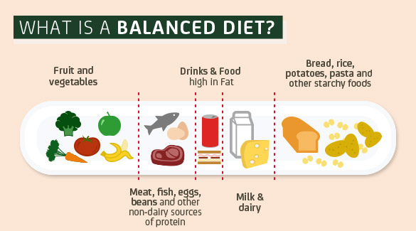 What Is the Difference Between a Balanced Diet & an Unbalanced Diet?