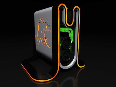 diseño de la consola Mad Box