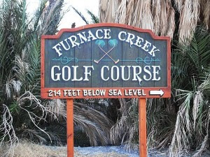 Golf at Furnace Creek
