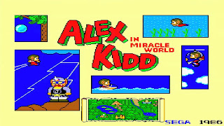 Pantallazo Alex Kidd in Miracle World
