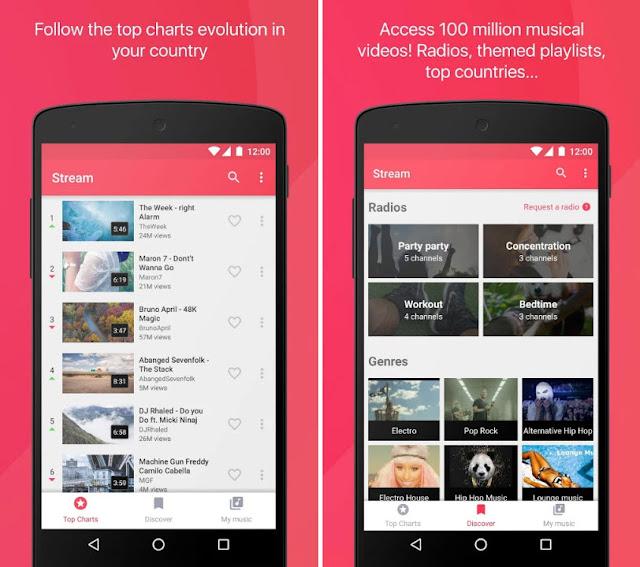 Stream: 免費YouTube音樂 App