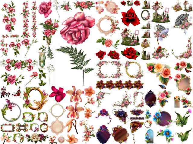 تحميل 105 صورة PNG لباقات الزهور بجودة عالية