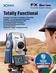 Spesifikasi Total Station Sokkia CX 105c New
